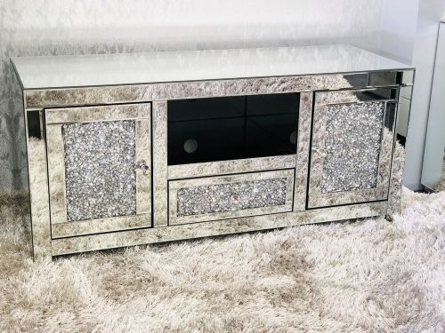 Crushed Diamond TV Cabinet - CTU282